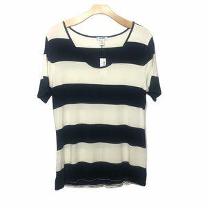 🌧 Old Navy striped soft Short sleeve shirt large